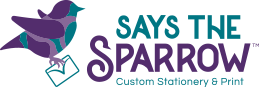 Says The Sparrow Logo